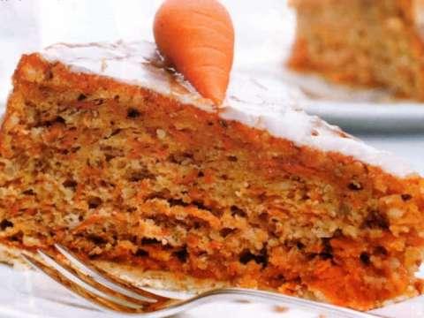 Κέικ καρότο με νιφάδες βρώμης