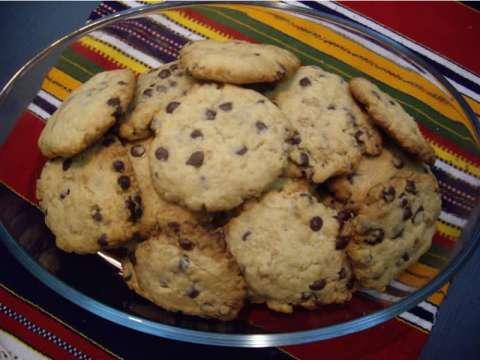 μπισκότα με κομματάκια σοκολάτας!