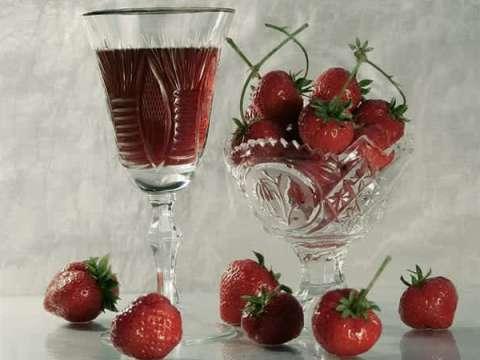 Συμπυκνωμένος χυμός φράουλας
