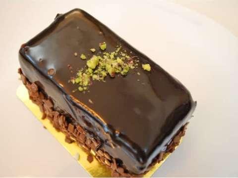Κέικ σοκολάτας με γλάσο σοκολάτας!