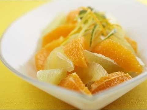 Γλάσο πορτοκαλιού και κανέλας