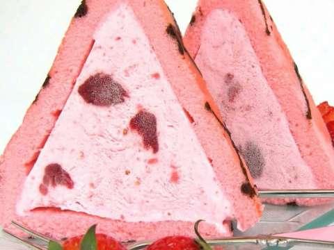 Budino φράουλας