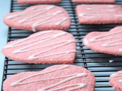 Αγιοβαλεντιάτικες ροζ καρδιές-μπουκιές