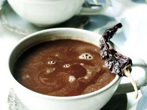 Πικάντικο ρόφημα σοκολάτας