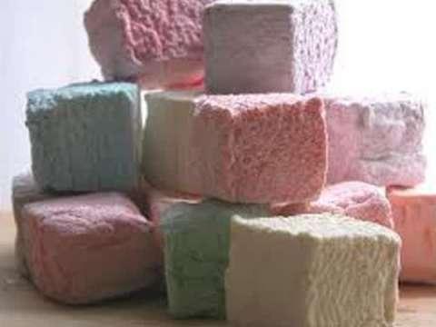 ζαχαρόπαστα marshmallows