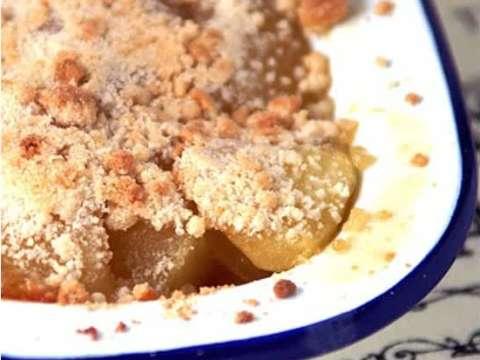 Κρυμμένη μηλόπιτα (apple crumble)