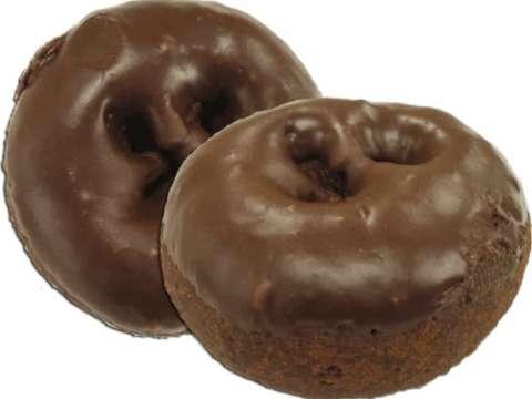 Μίνι Ντόνατ Σοκολάτας με γλάσο σοκολάτας