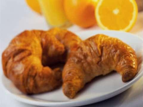 κρουασάν με σοκολάτα & πορτοκάλι