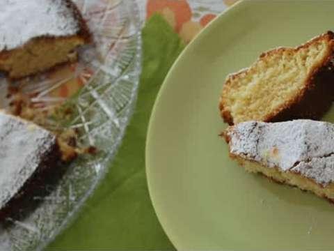 αρωματικό κέικ πορτοκαλιού