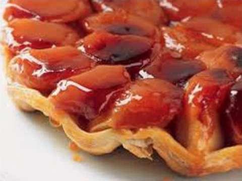 Γαλλική μηλόπιτα (ταρτ τατέν)