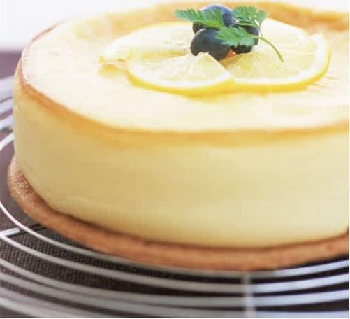 Συνταγή Τούρτα - Κέικ με κρέμα λεμόνι