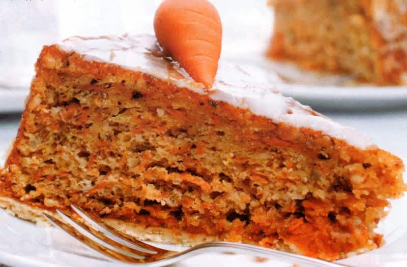 Συνταγή Κέικ καρότο με νιφάδες βρώμης