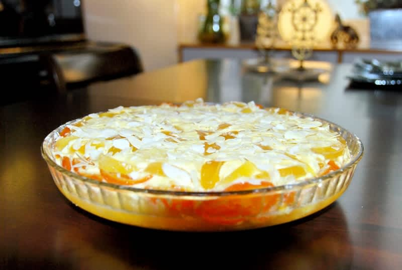Συνταγή Τούρτα μαρέγκα πορτοκάλι