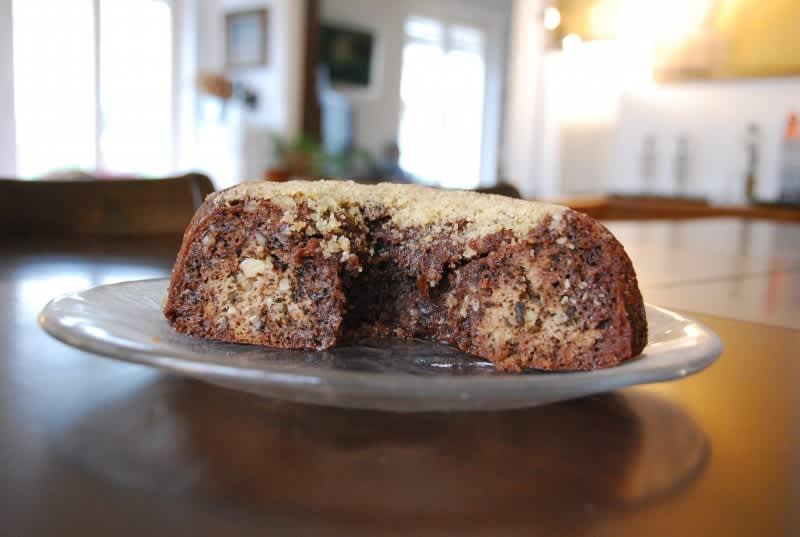 Συνταγή Κέικ με καρύδια