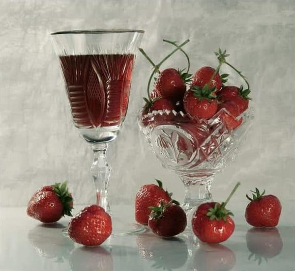 Συνταγή Συμπυκνωμένος χυμός φράουλας