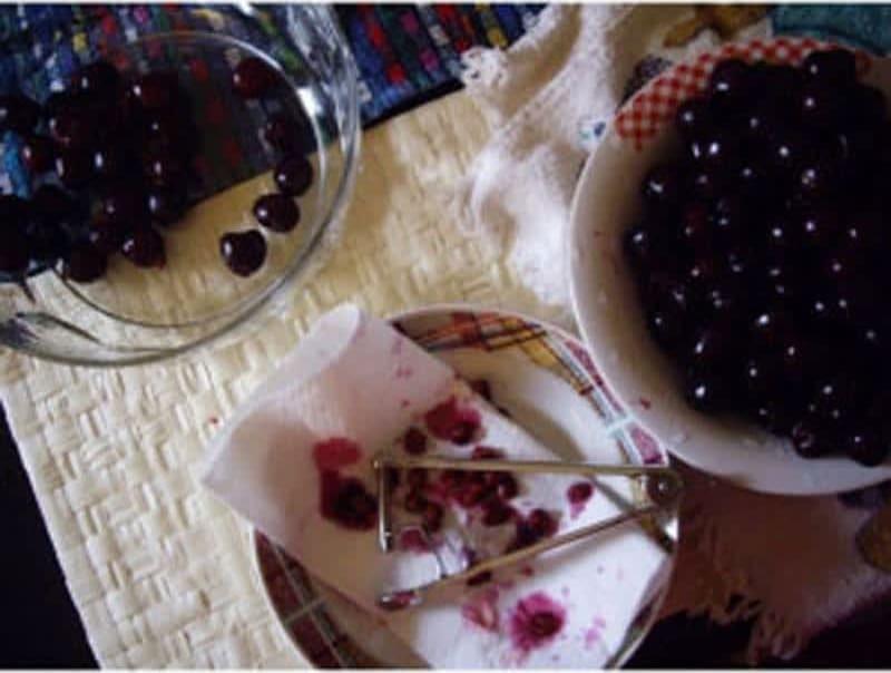 Συνταγή Κέικ με κεράσια