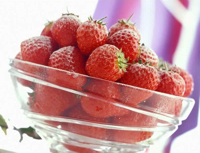 Συνταγή γλάσο φράουλας