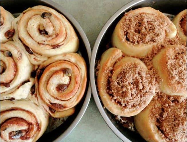 Συνταγή ρολάκια με μήλο και κανέλα