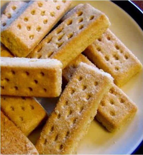 Συνταγή Μπισκότα βουτύρου - shortbread