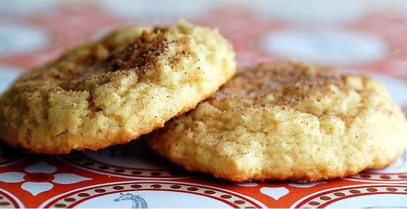 Συνταγή Μπισκότα ζάχαρης - κανέλας