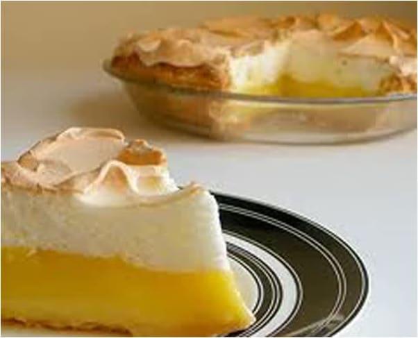 Συνταγή πίτα λεμονιού (lemon pie)