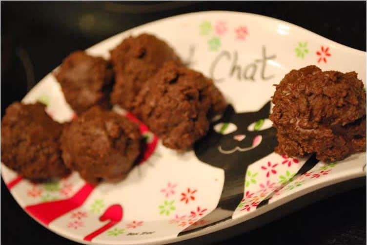 Συνταγή σοκολατάκια σε 5'