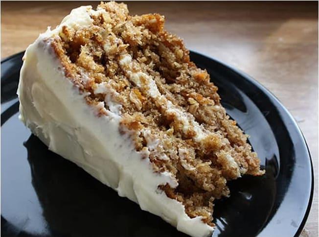 Συνταγή τούρτα καρότο (carrot cake)
