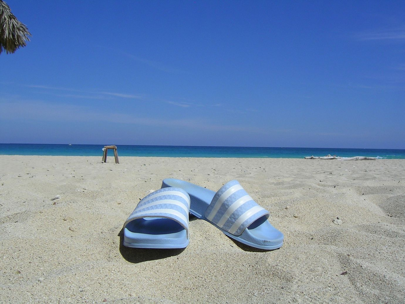 Adiletten am Strand