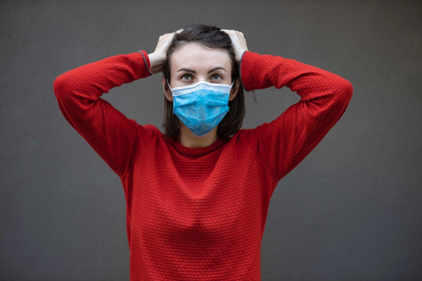 wie sind Schutzmasken richtig aufzusetzen
