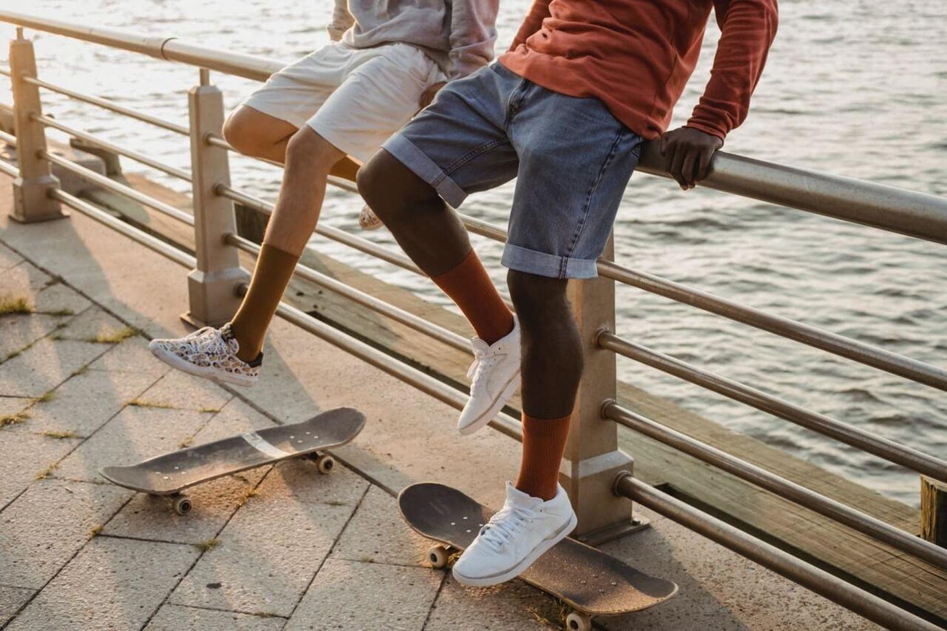 Welche Schuhe passen zu Herren Shorts?