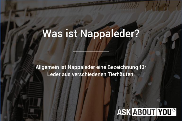 was ist nappaleder}