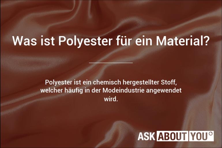 was ist polyester für ein material