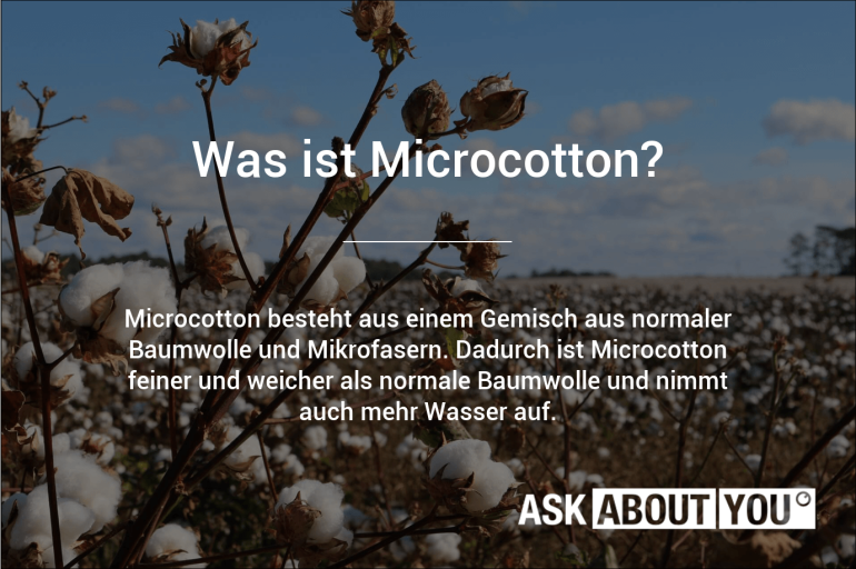 was ist microcotton