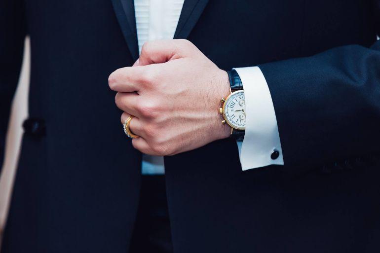 Wie trägt man eine Uhr richtig?}