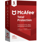 "<br>McAfee<sup style=""font-size: 0.4em;"">®</sup> Total<br>Protection"