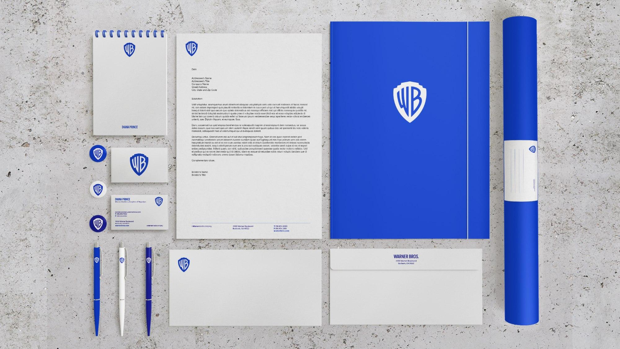 Warner Bros typeface