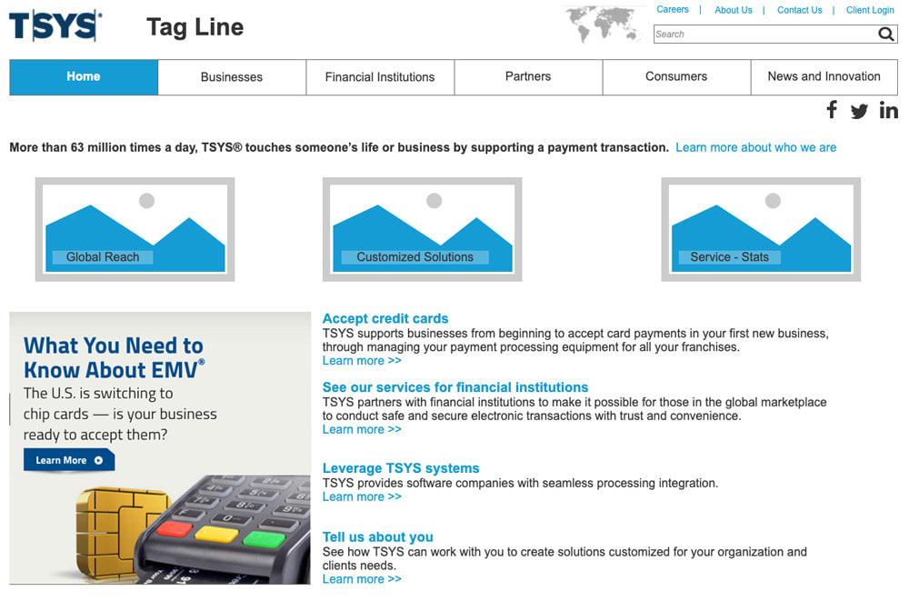 Tsys Homepage
