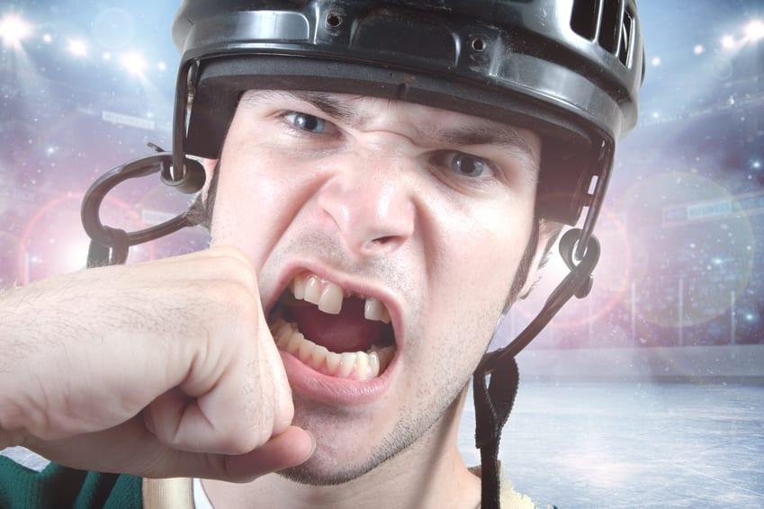 How Can Hockey Players Save Their Teeth?