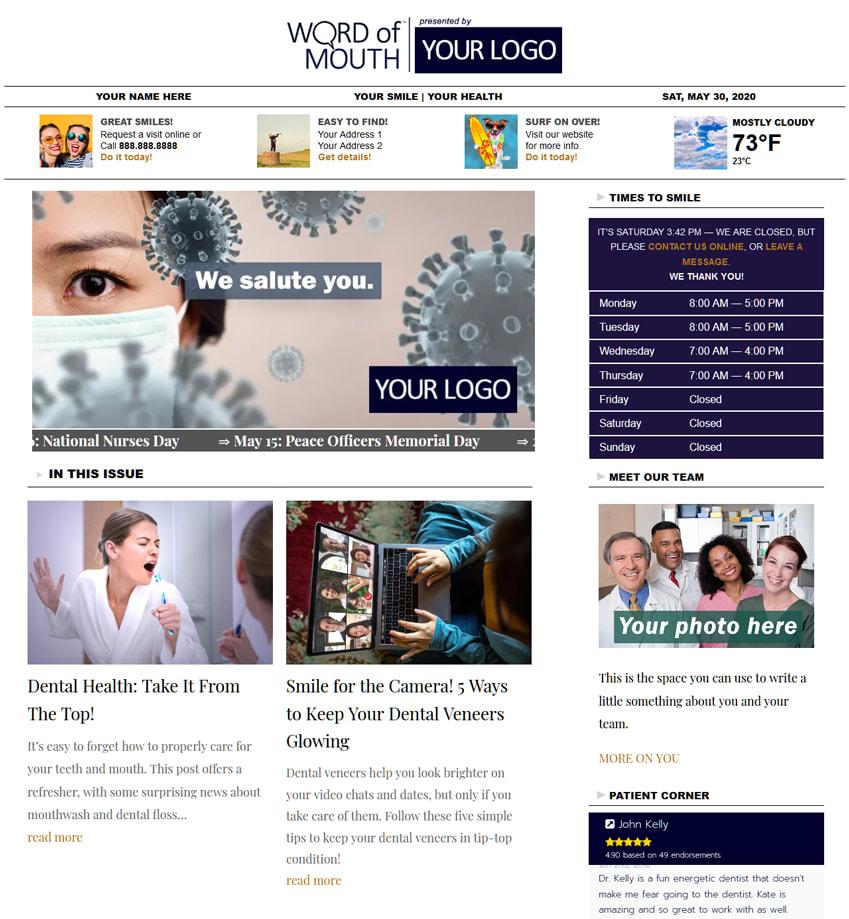 Health Care Blog Service