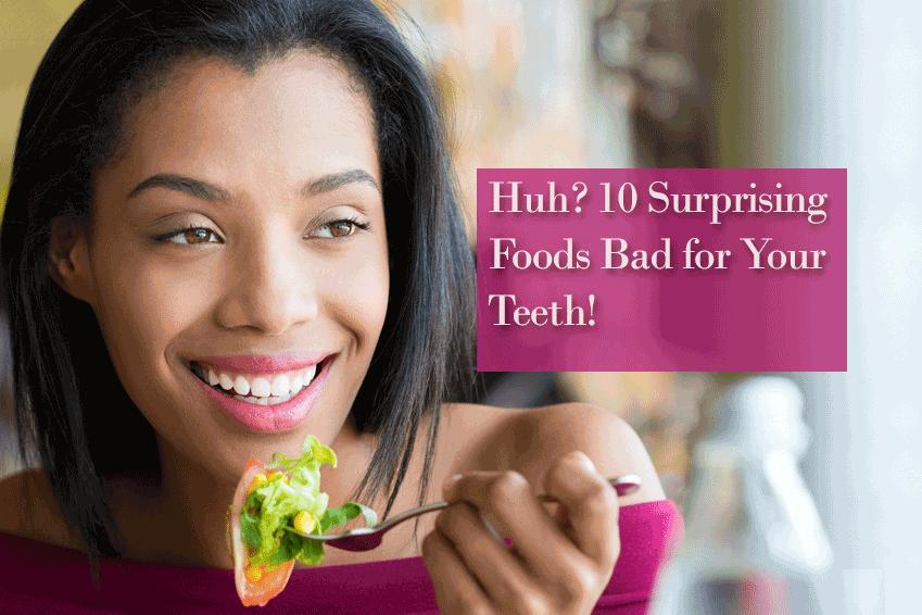 Foods Damage Teeth