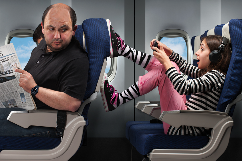 """""""Would You Please??!!"""" Complete Video Guide to Airplane Etiquette"""