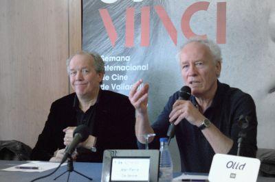 Luc y Jean-Pierre Dardenne en la 59 Seminci