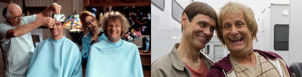 Los protagonistas de las dos películas de los hermanos Farrely