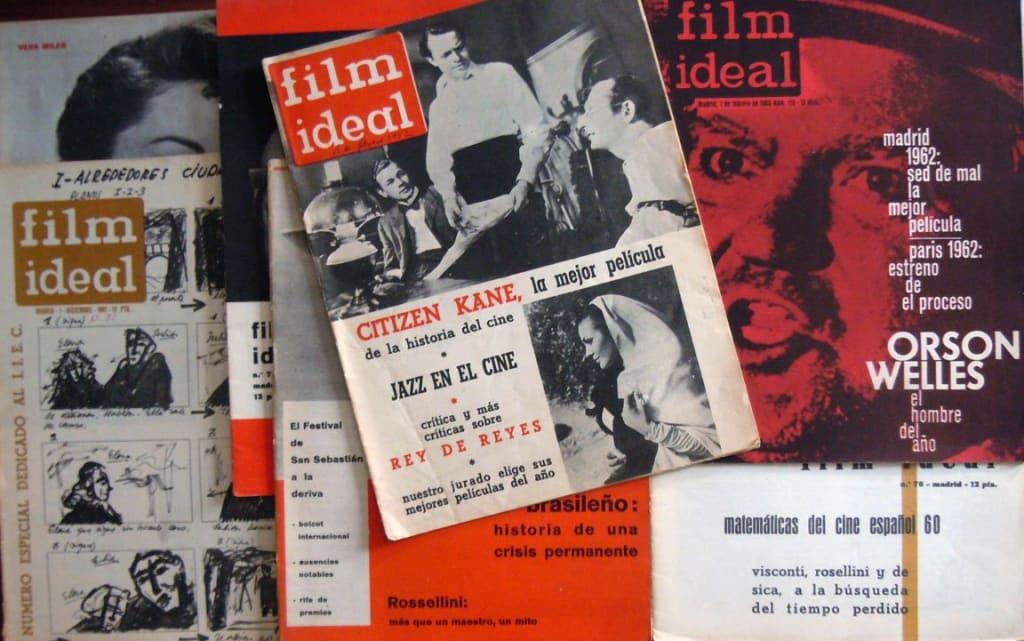 JM Latorre - Elegía a una especie en vías de extinción - Portadas de la revista Film Ideal