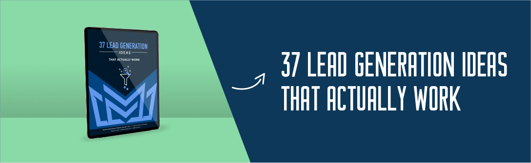37 Lead Generation Ideas