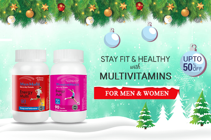 Multivitamin for Men and Women - Medsmantra