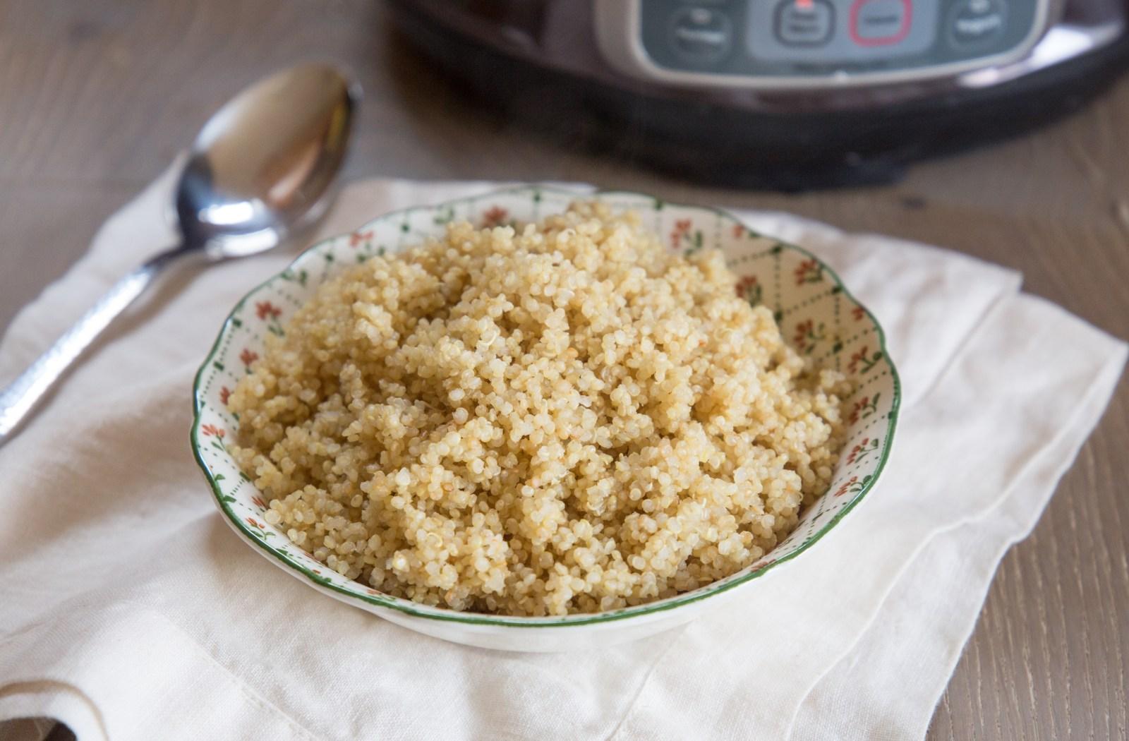 1-Minute Quinoa in a Pressure Cooker image