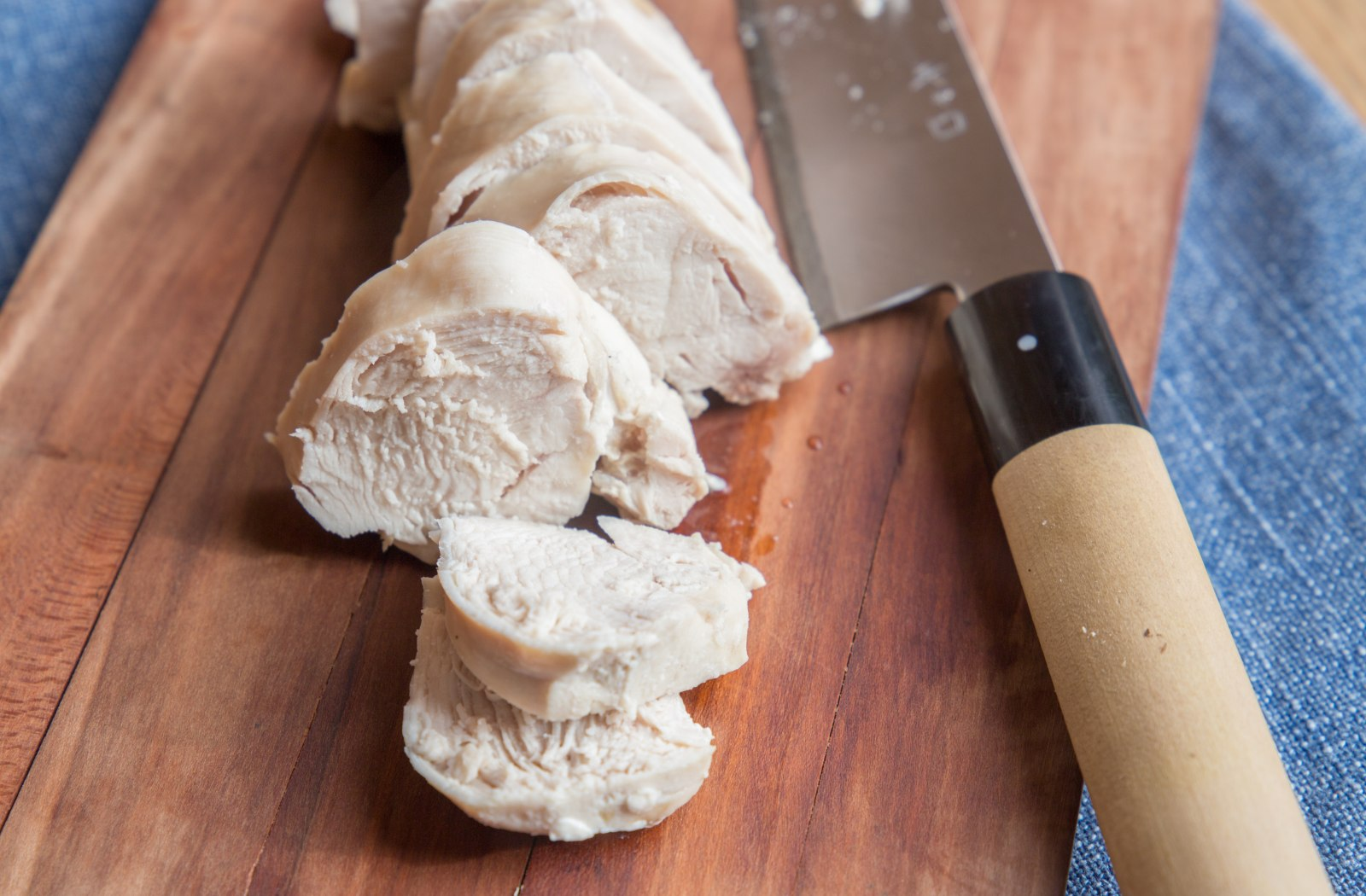 How to Cook Juicy, Perfect Poached Chicken Breasts in a Pressure Cooker image