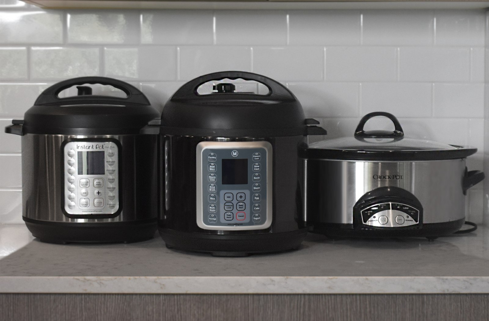 A Quick Comparison of the Mealthy MultiPot, the Instant Pot, and the Crock Pot image