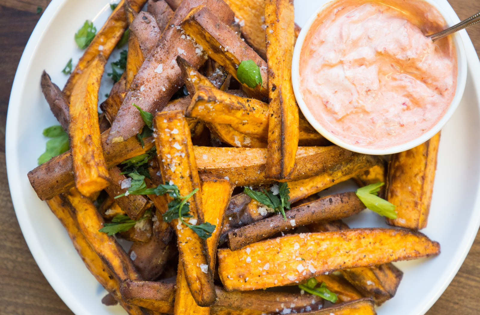 How to Make Sweet Potato Wedges in an Air Fryer  image